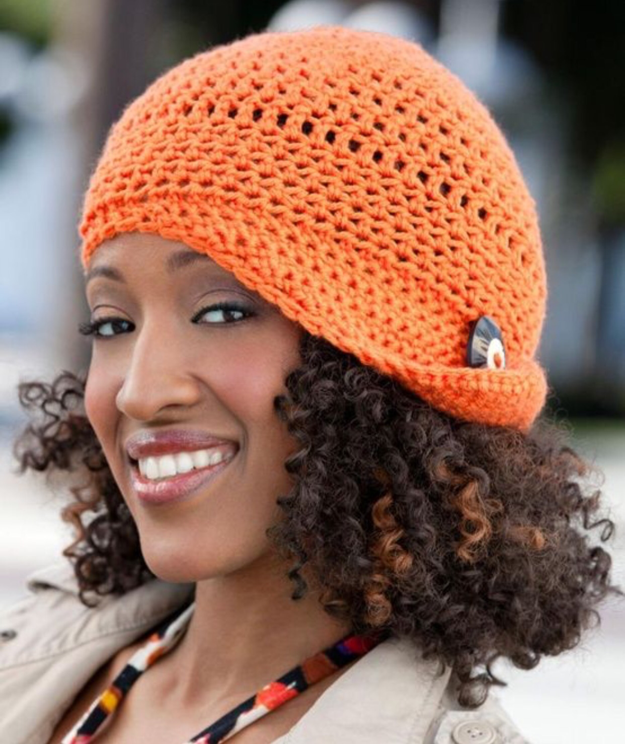 Crochet Hair Cap : Natural Hair & Hats Curly Christians